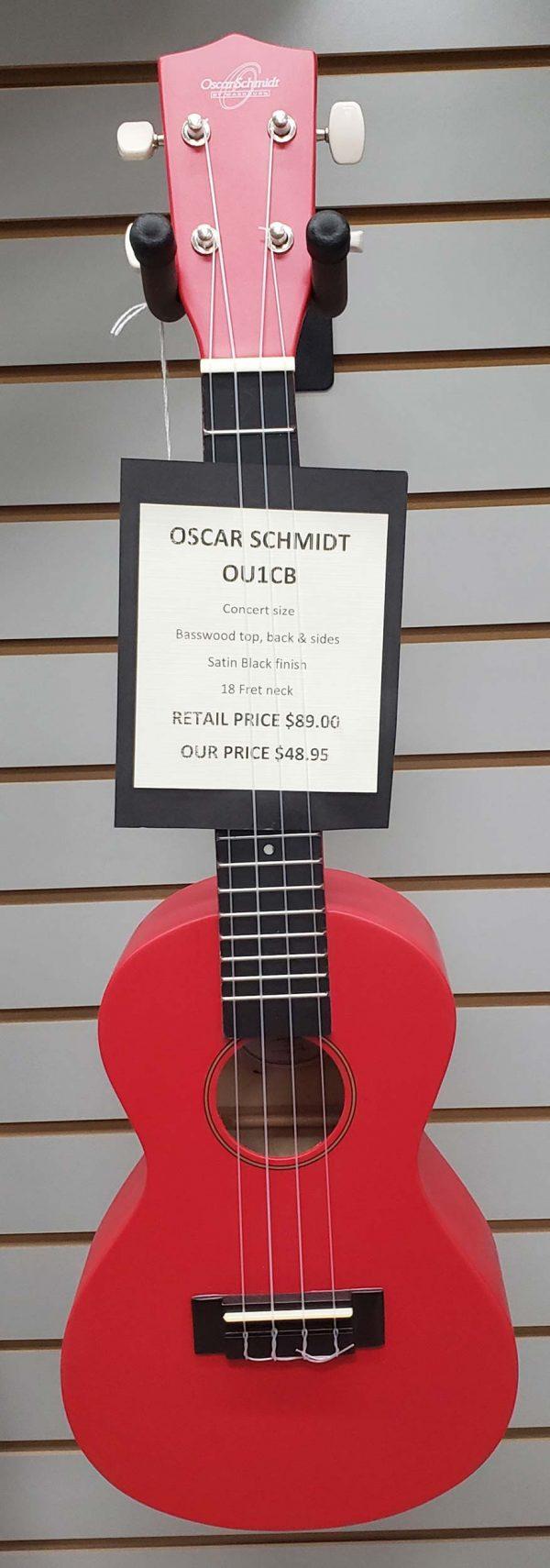 Oscar Schmidt OU1CB Concert Ukulele